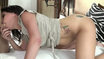Danica Dillon's actual passion for love-making is astounding and she's got great tits