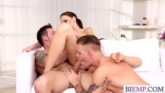 Sizzling companion posses her partner together hubby
