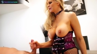 Hottie Julia Ann wild amazing action with the use of Toni Ribas