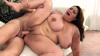Enormous boobed huge far eastern can take penis