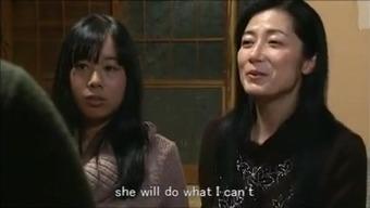 Jap mum daughter preserving residential home m80 subs