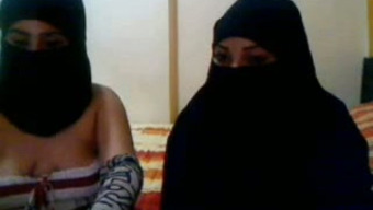 Perverted Arab nymphos in hijab appreciate requesting on web camera for our delight