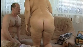 Magnificent Bad fats Titted Fuzzy Granny