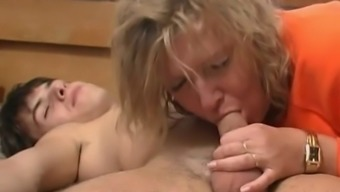 Grow older Cheating wife fucking young Companion and achieving his ejaculate