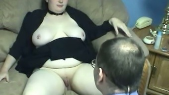 Plumper milk painful BBW hoe gets her inflated cunt taken