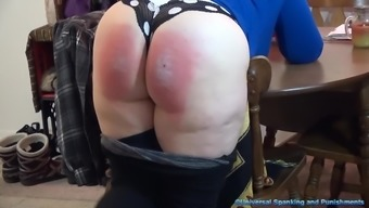 A Frighten Gets Spanked!