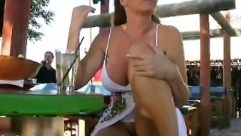 Busty blonde milf gets perverted showing part6