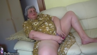 OldNanny Fairly girl and excess weight granny masturbating collectively