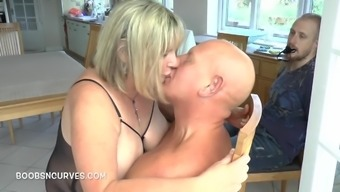 Observing his action sister fuck his wife