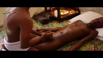 west african oil massage therapy