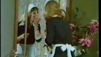 Classic Vintage Ouderwetse - Little Tove Restrain - Maid Orgy