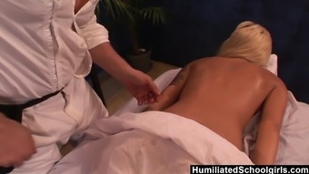 Emma Mae likes getting massaged and much more in the event that its from Evan Stone
