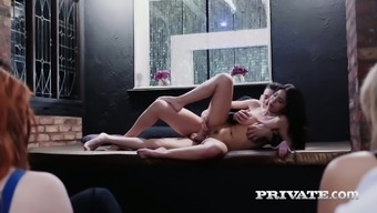 Julia en Lucia is merely an spirited user within this really hot sex online video media