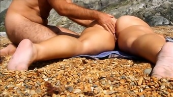 Rubdown partner pussy and stupid ass at seaside