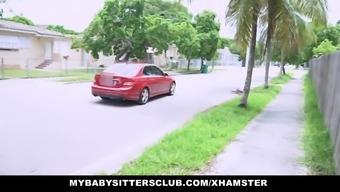 MyBabySittersClub - Beautiful Kid Sitter Fucks Patient