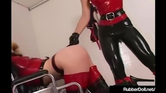 Latex Healthcare provider RubberDoll Research On Mental Sufferer K-La!