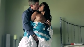 Giselle Mari And Mick Blue Go Really Intense Fulfilling A Fairy tale