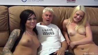 Gorgeous Karmen Karma gets her pussy devastated with a excess weight cock