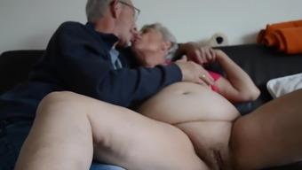 Bad fats old granny making out