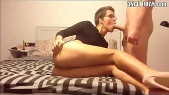 Anal passage Love-making With the use of Small Haired Horny German born Chicken