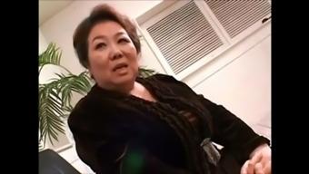 Japanese granny michiko suzuki&#39s cosplay sex