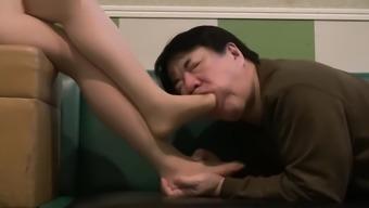 JAPANESE Leg Homage and devotion