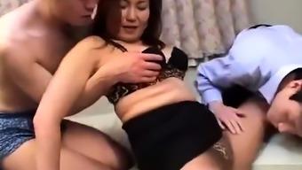 Toying blowjob sucking far eastern Chinese